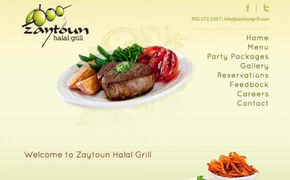 Zaytoun Halal Grill - Home Page