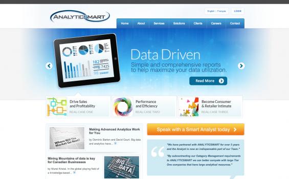 AnalyticSmart Homepage
