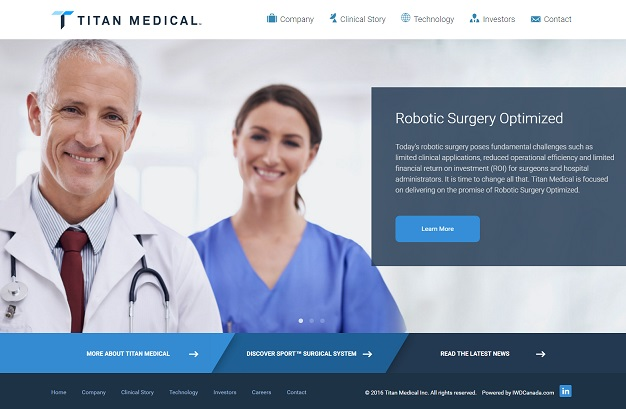 titan_medical_iwd_website_design_development_homepage